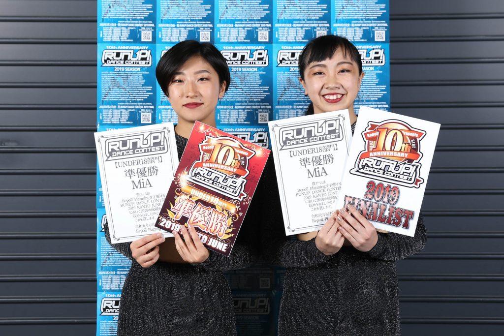 MiA20190602UNDER18準優勝RUNUP