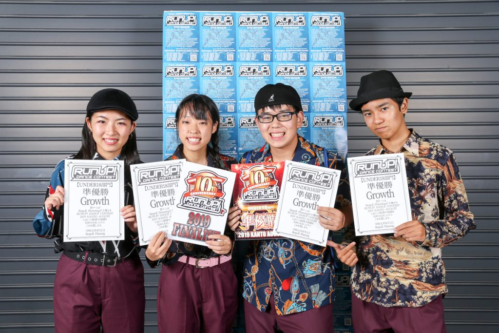 RUNUP20190801UNDER18準優勝Growth