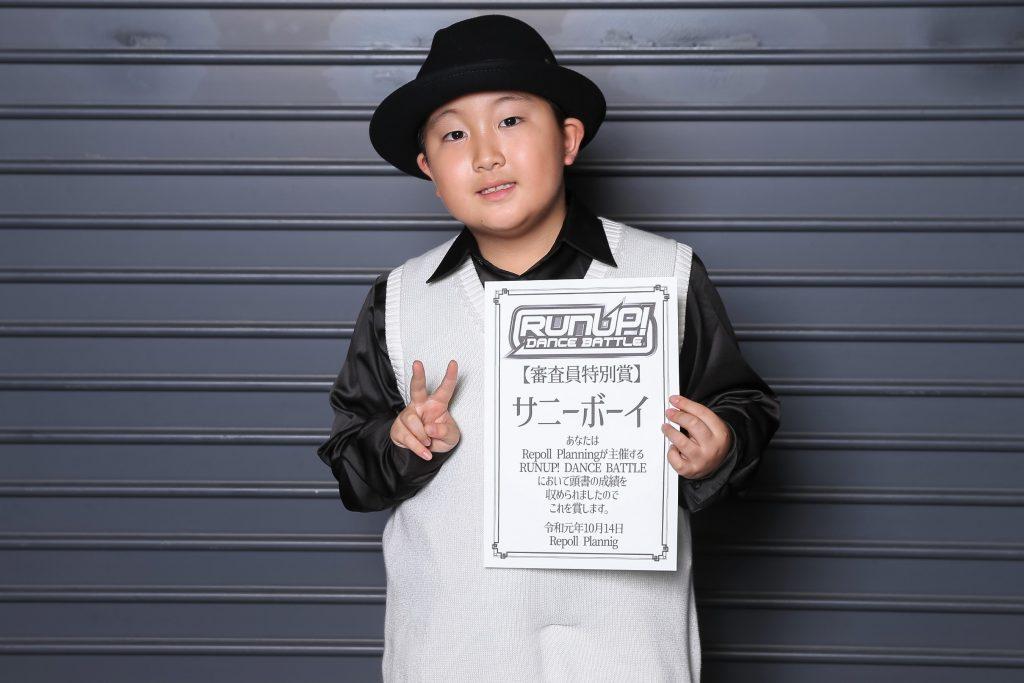 ラナップRUNUPバトル20191014審査員特別賞サニーボーイ