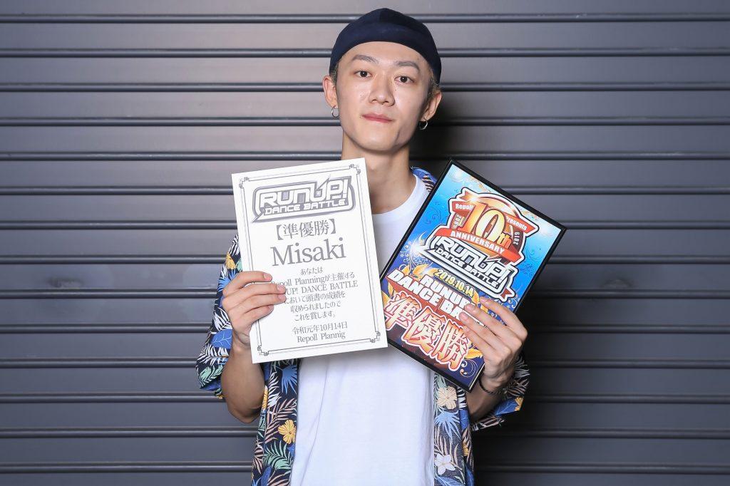 ラナップRUNUPバトル20191014準優勝Misaki
