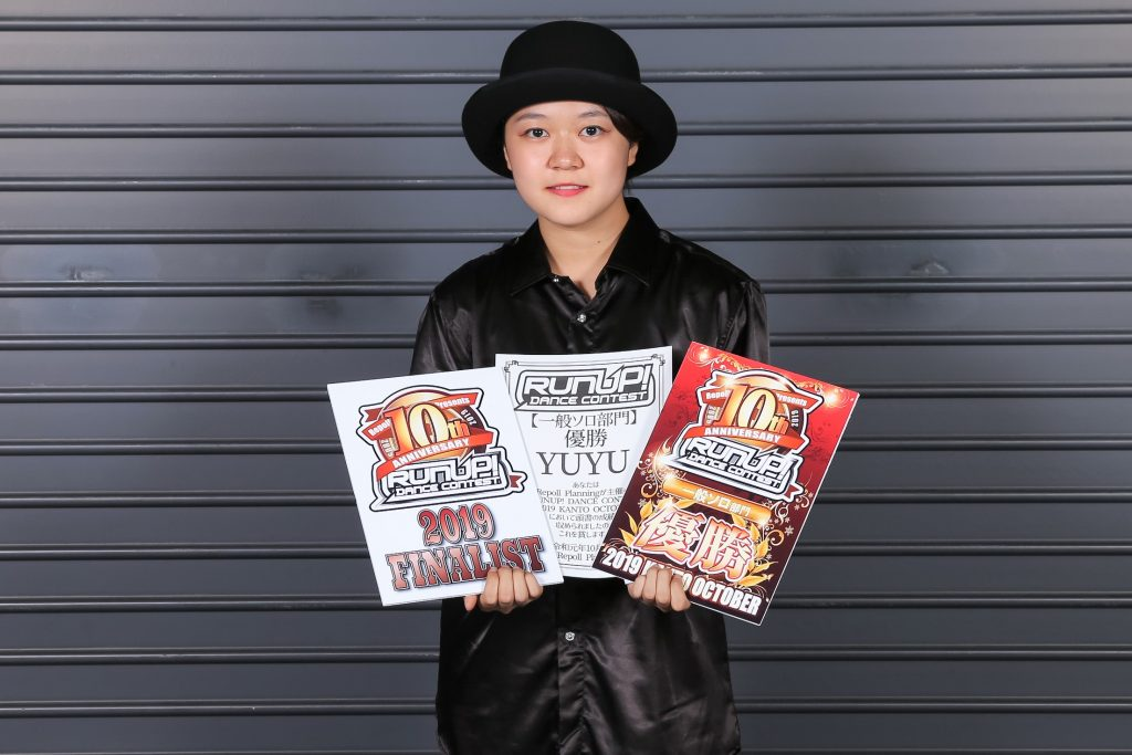 ラナップRUNUP20191014一般ソロ優勝YUYU