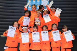 RUNUPラナップ20191123キッズビギナー優勝RhythmElement