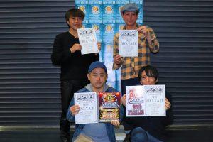RUNUP濱O.YA.JIラナップ20191123OVER40優勝