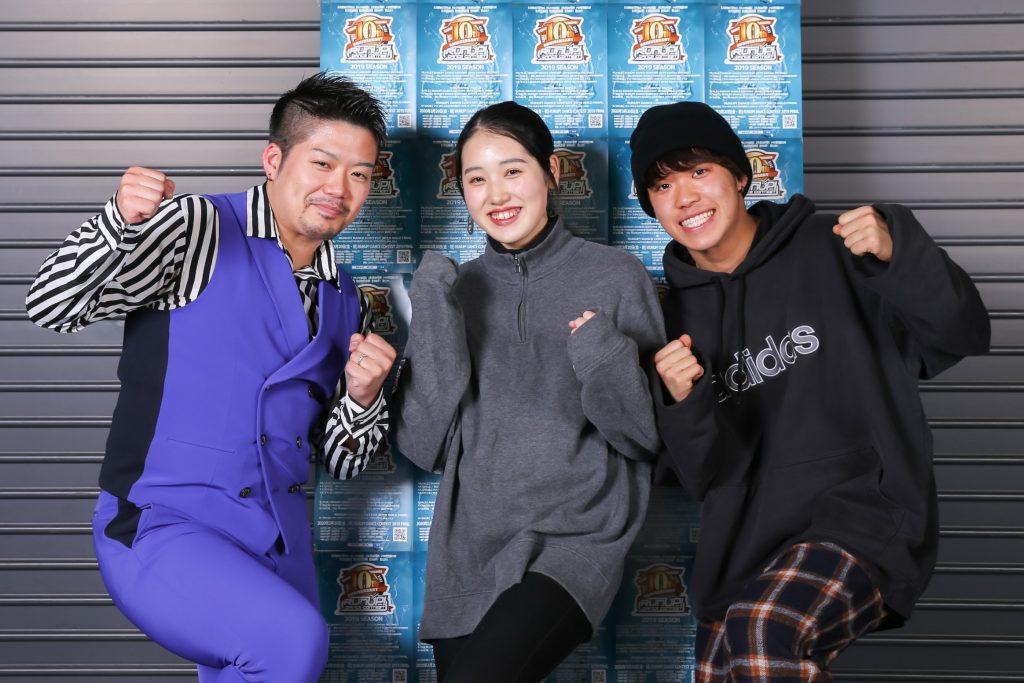 RUNUPラナップ20191221バトル審査員