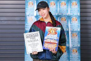 RUNUPラナップ20191221バトル準優勝NAGISA