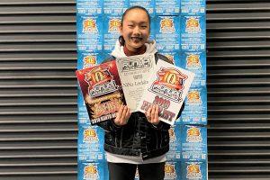 RUNUPラナップ20200126UNDER15ソロ優勝NiNa Leckinger