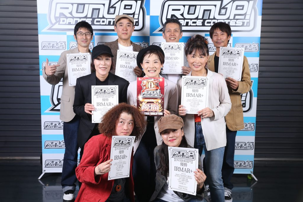 RUNUPラナップ20200224最終予選OVER40優勝