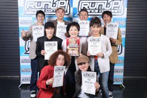 RUNUPラナップ20200224最終予選OVER40優勝