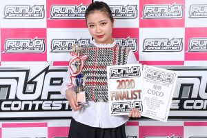 RUNUPラナップFINAL20200224UNDER15ソロ優勝②coco