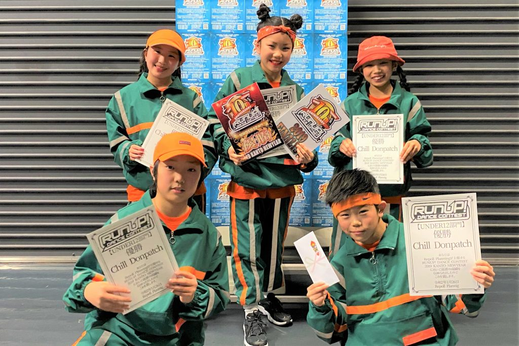 RUNUP 2019 FINAL REVIVAL U12 準優勝 Chill Donpatch