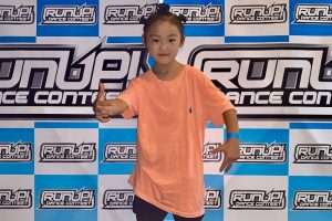 RUNUP 2020 KANSAI FIRST UNDER9ソロ 優勝 FUTABA
