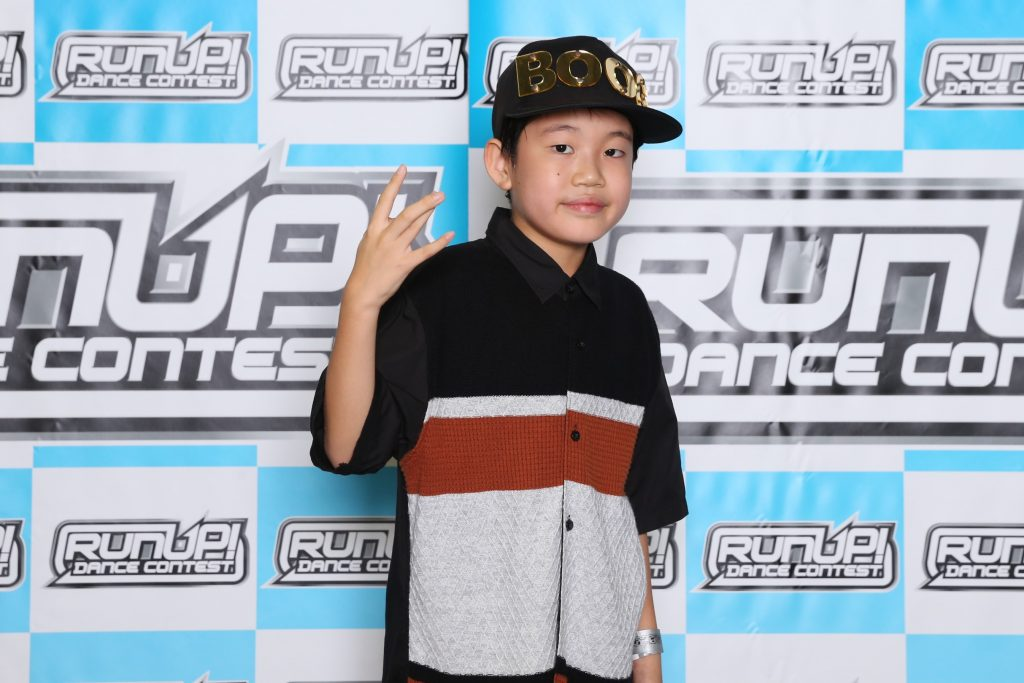 RUNUP 2020 KANTO SEPTEMBER UNDER12ソロ 準優勝 Kate Boog
