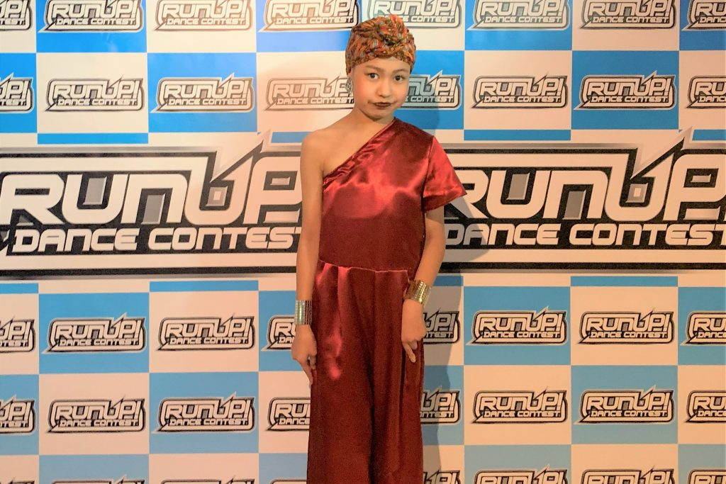 RUNUP 2020 KANSAI SECOND UNDER12ソロ 準優勝 NARUHA