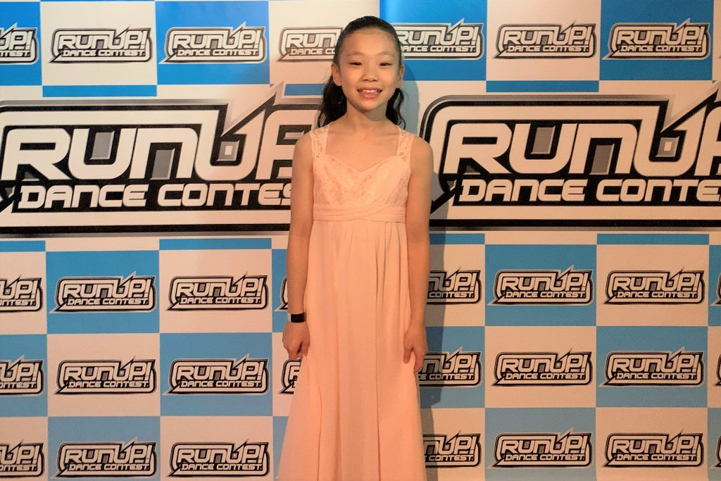 RUNUP 2020 KANSAI SECOND UNDER9ソロ 準優勝 杏花