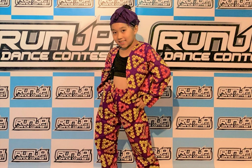 RUNUP 2020 KANSAI SECOND UNDER9ソロ 第3位 AOI