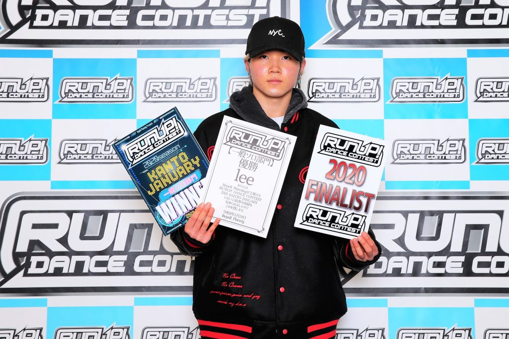 RUNUP 2020 KANTO JANUARY 一般ソロ 優勝 lee