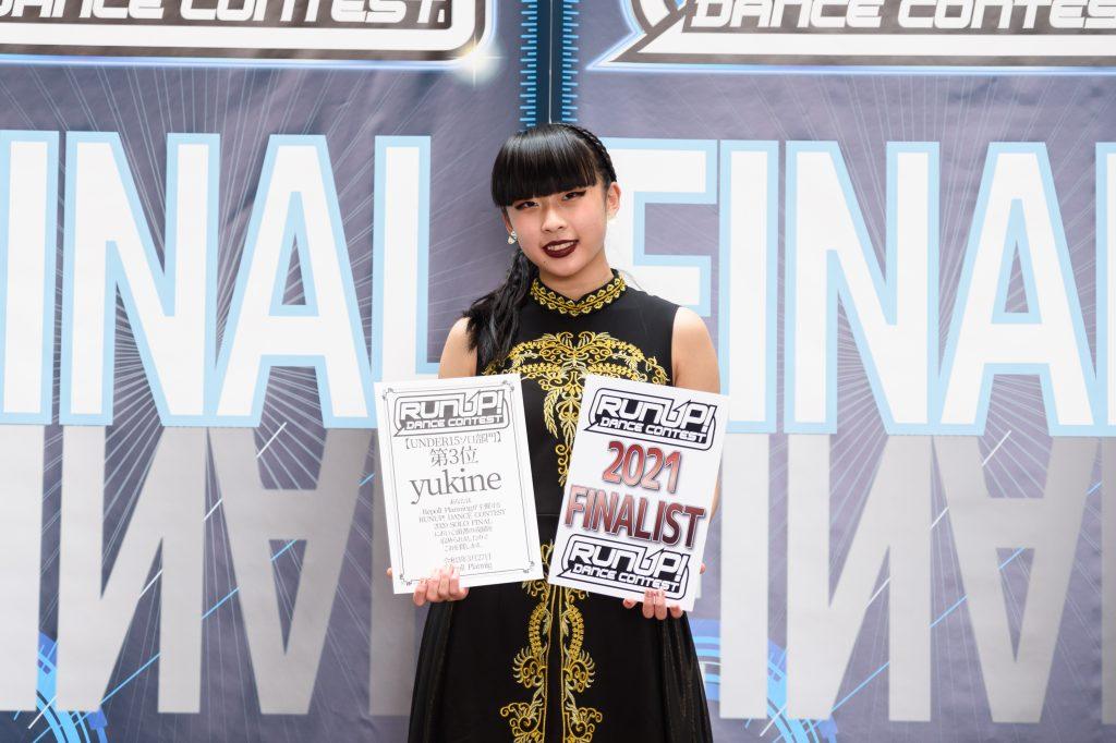 RUNUP 2020 SOLO FINAL UNDER15ソロ 第3位 yukine②