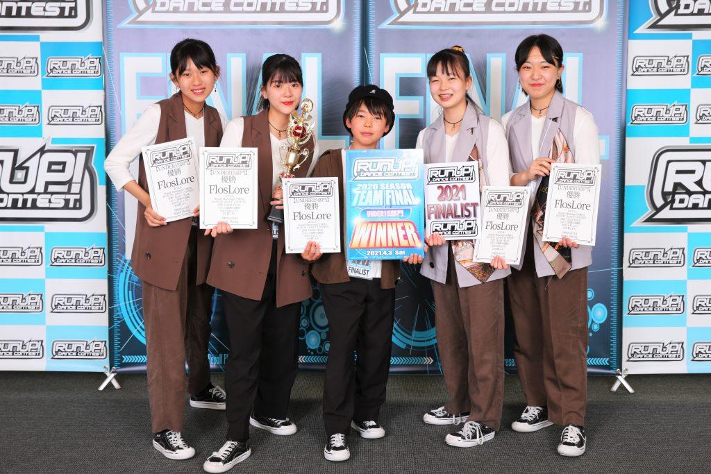 RUNUP 2020 TEAM FINAL UNDER15 優勝 FlosLore