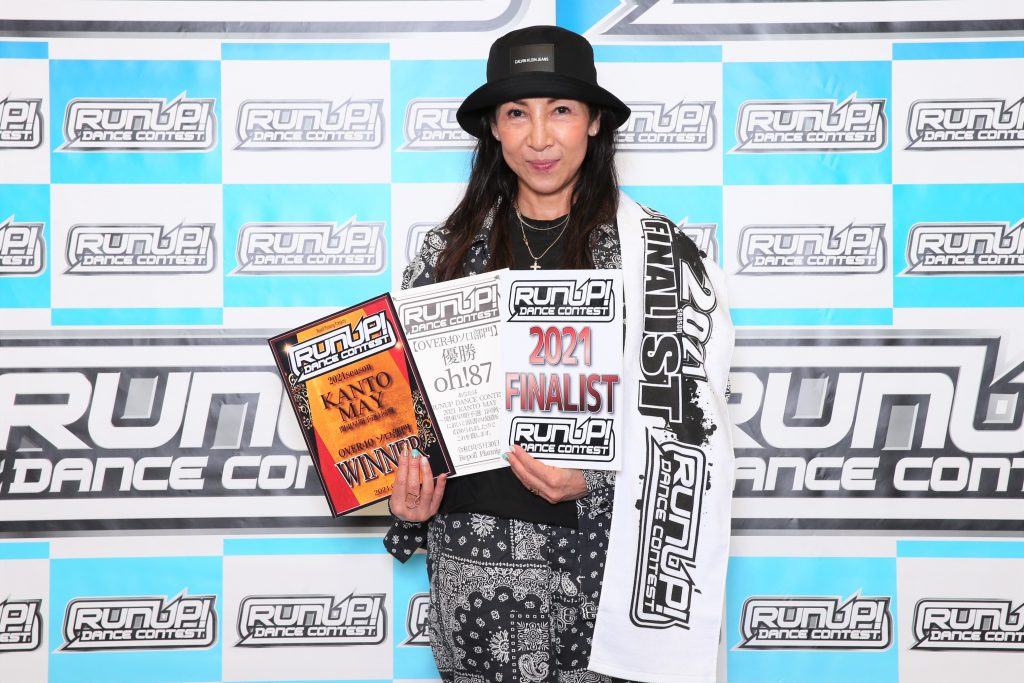 RUNUP 2021 KANTO MAY OVER40ソロ 優勝 oh!87