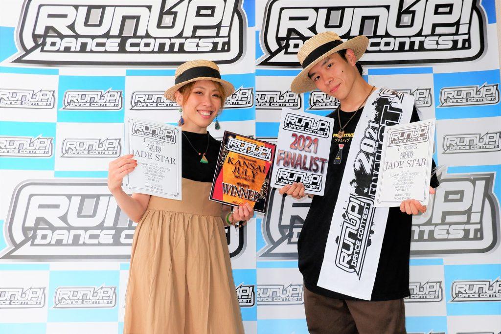 RUNUP 2021 KANSAI JULY 一般 優勝 JADE STAR