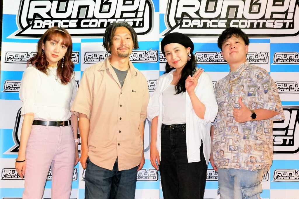 RUNUP 2021 KANSAI JULY 審査員&MC