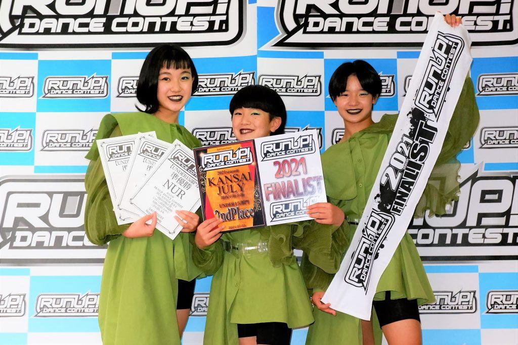RUNUP 2021 KANSAI JULY UNDER15 準優勝 NUR
