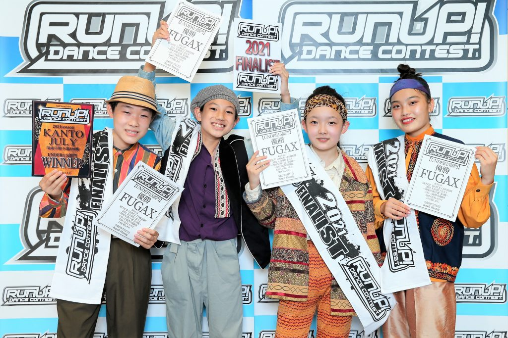 RUNUP 2021 KANTO JULY UNDER15 優勝 FUGAX