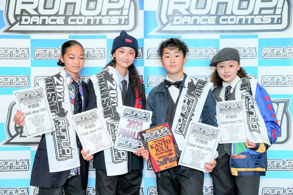 RUNUP 2021 KANTO JULY UNDER15 準優勝 Canal street NYC