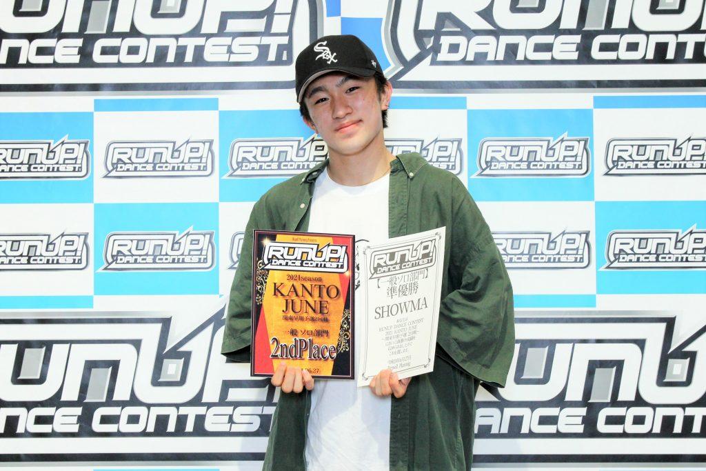 RUNUP 2021 KANTO JUNE 一般ソロ 準優勝 SHOWMA