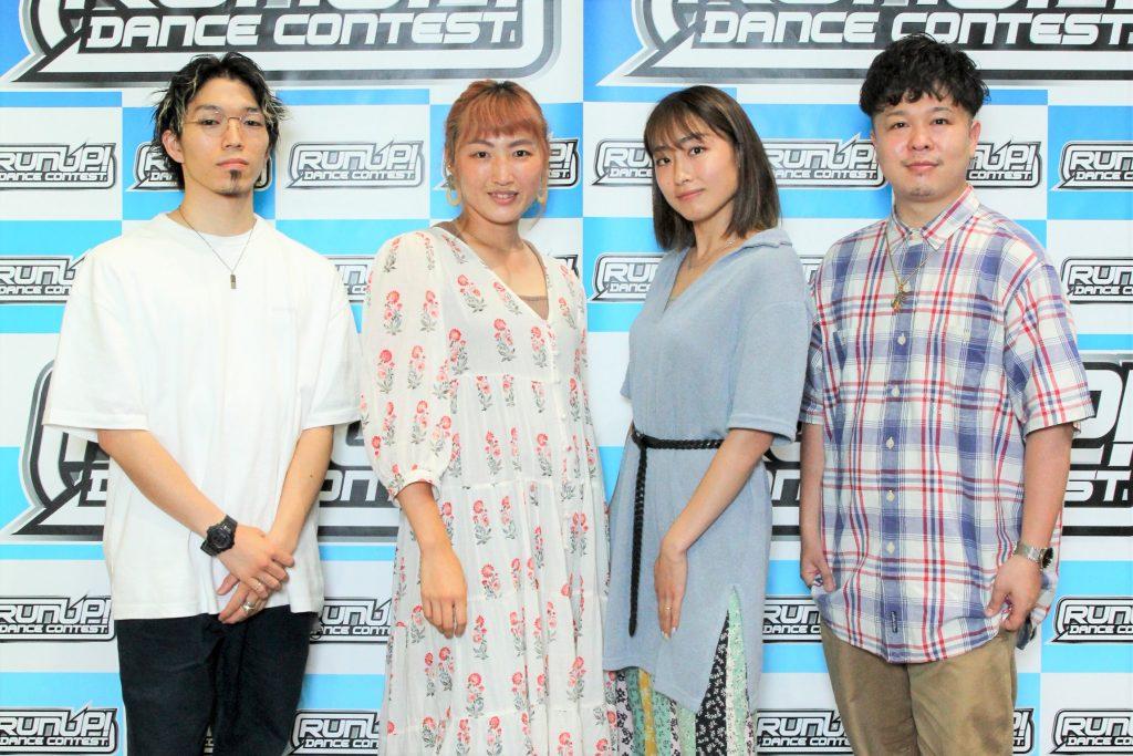 RUNUP 2021 KANTO JUNE 審査員&MC