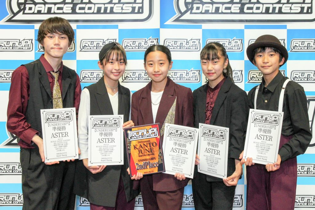 RUNUP 2021 KANTO JUNE UNDER15 準優勝 ASTER
