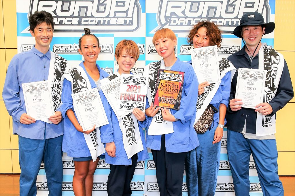 RUNUP 2021 KANTO AUGUST OVER40 優勝 Digro
