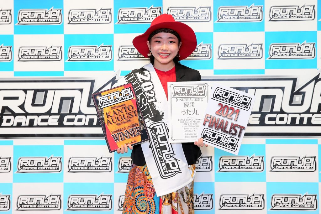 RUNUP 2021 KANTO AUGUST UNDER15ソロ 優勝 うた丸