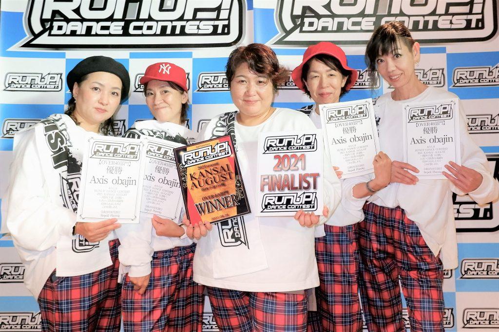 RUNUP 2021 KANSAI AUGUST OVER40 優勝 Axis obajin